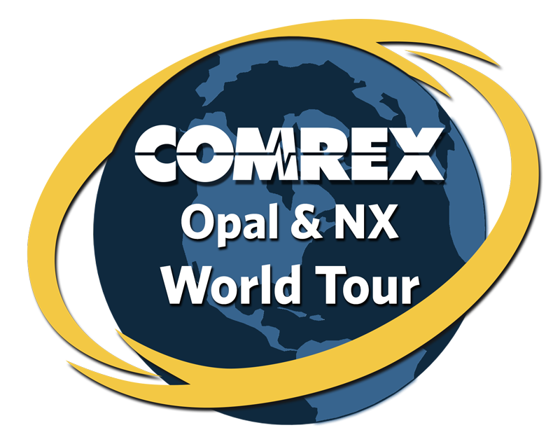 Comrex Opal & NX World Tour