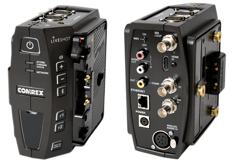 LiveShot portable IP video codec