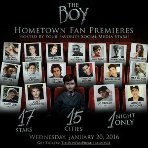 The Boy - Fan Premiere With LiveShot