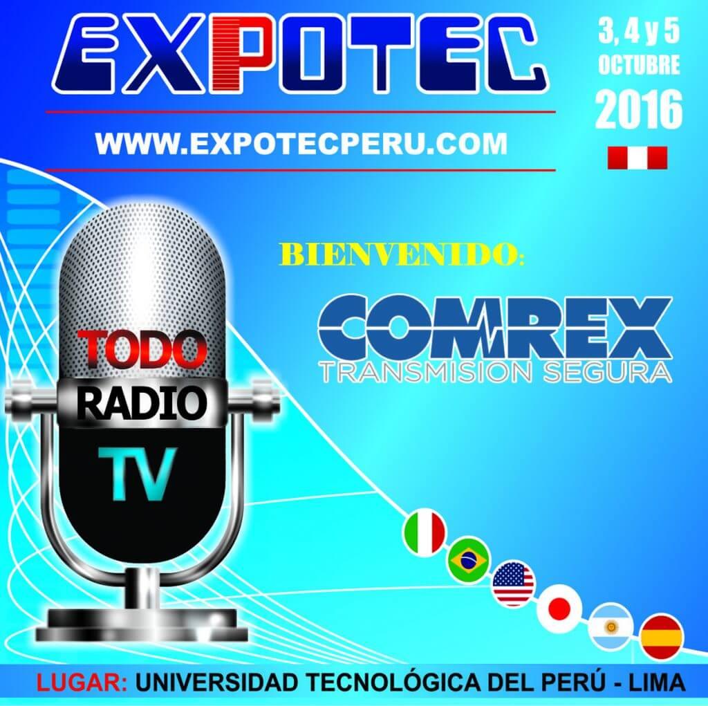 COMREX - EXPOTEC 2016