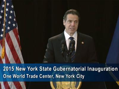 new york gubernatorial inauguration
