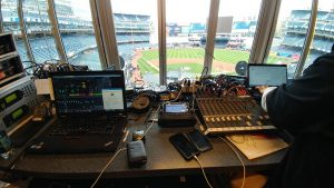 TRM Corporation using Comrex ACCESS NX to cover American League Championship