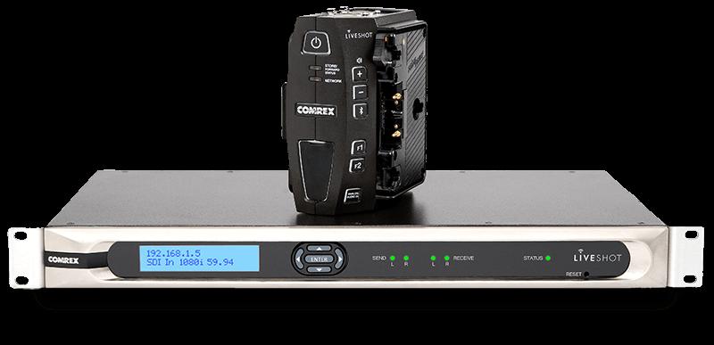 Comrex LiveShot Portable and Rackmount Video IP Codec