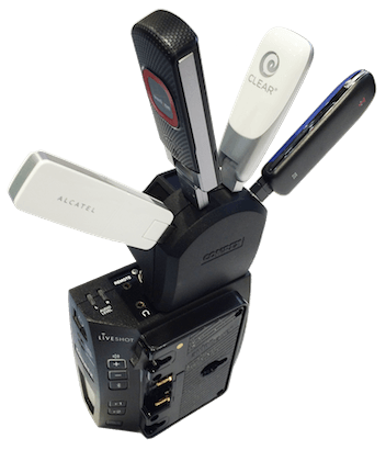 Support - LiveShot Portable - Comrex