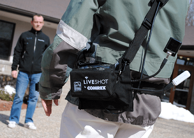 LiveShot portable pouch accessory