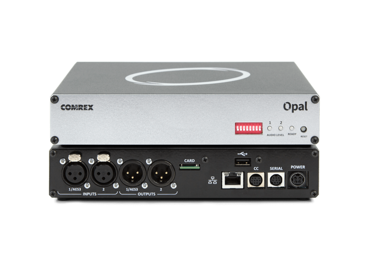 Comrex Opal is an IP audio gateway