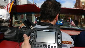 TRM Corporation using Comrex ACCESS NX to cover Veteran's Day parade