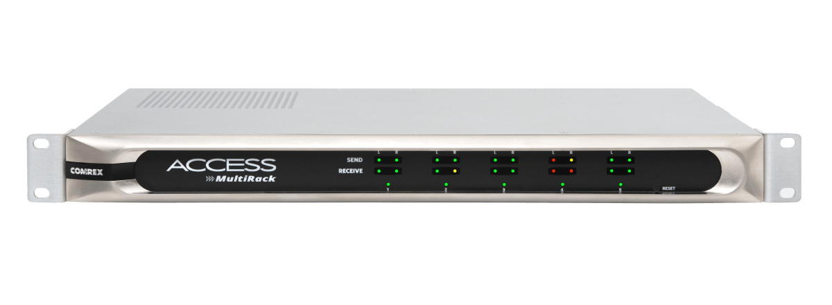 NEW! ACCESS MultiRack IP Audio Codec by Comrex