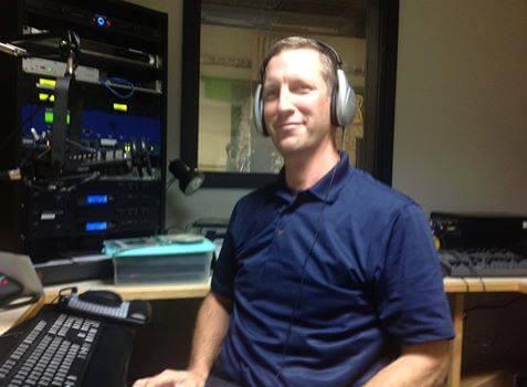 Mark Gonwa of Sun Prairie Media Center in studio with ACCESS