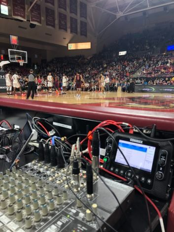 Kevin Collins uses IP audio codec ACCESS NX for college basketball broadcasts