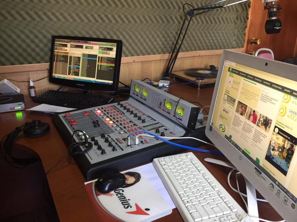 Candelaria Radio with Comrex Opal IP audio gateway