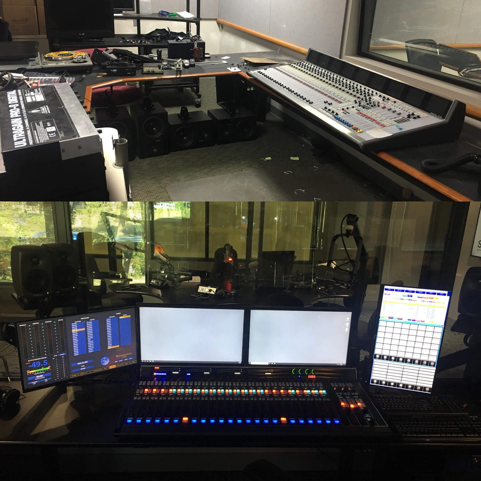 Studios at Oregon Public Radio