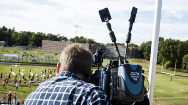 LiveShot Portable covering high school football half time